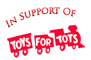 in support of toys for tots